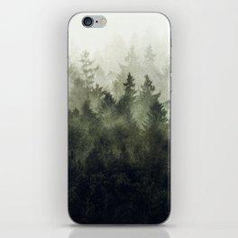 The Heart Of My Heart // Green Mountain Edit iPhone Skin