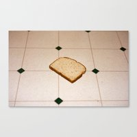 bread Canvas Prints featuring bread by jacob rattin