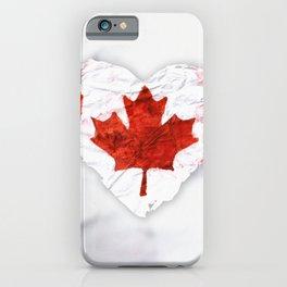 Love Canada iPhone Case
