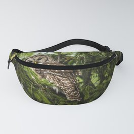 Barred Owl Fanny Pack