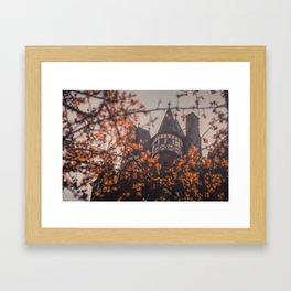 The Burg Framed Art Print