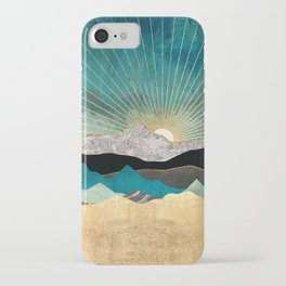 Peacock Vista iPhone Case