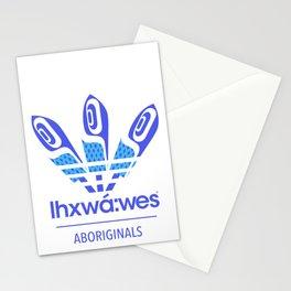 Aboriginal- Blue Eyed Grass Stationery Cards
