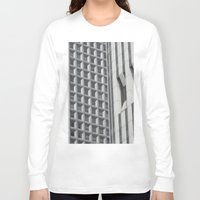 concrete Long Sleeve T-shirts featuring Concrete Jungle by Alicia Evans