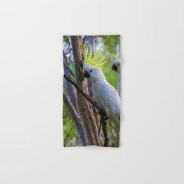White Cockatoos Hand & Bath Towel