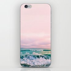 beach sunset photo iPhone Skin