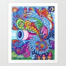 Icaros Art Print