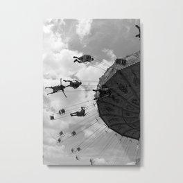 Swings (vertical) Metal Print