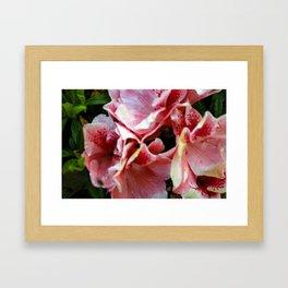 Spotted Flowers Framed Art Print