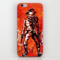 western iPhone & iPod Skins featuring Western by Tom Ryan