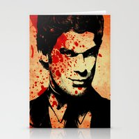 dexter Stationery Cards featuring Dexter by 2b2dornot2b