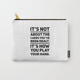 Poker Game gift idea Carry-All Pouch