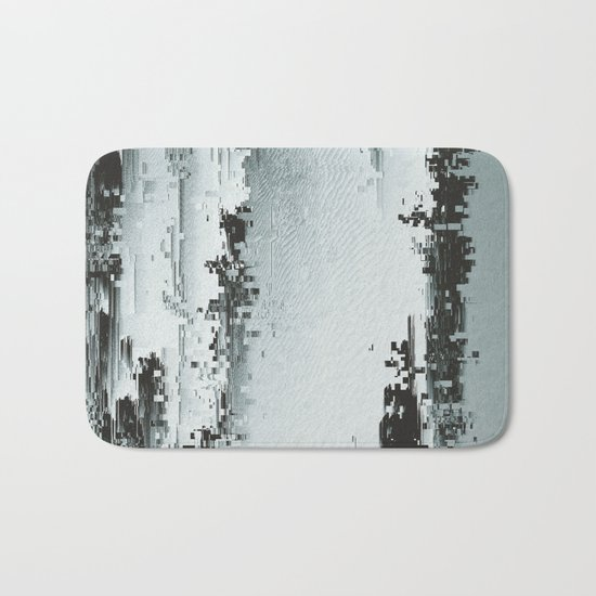 Silver Deposits Bath Mat