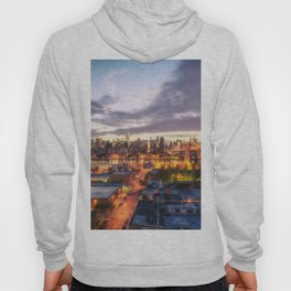 New York City Skyline - Evening Hoody