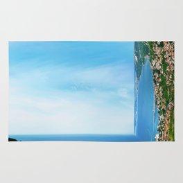 sea panorama Rug