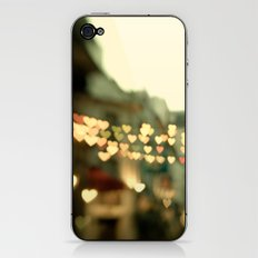 Looking for Love - Paris Hearts iPhone & iPod Skin
