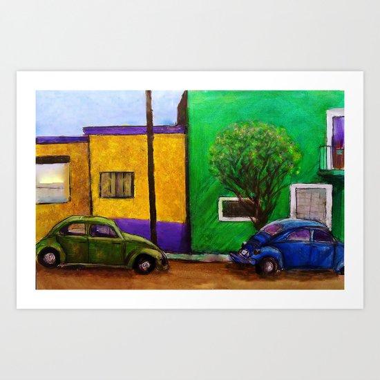 Bochito! Art Print