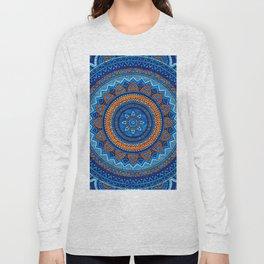 Hippie mandala 36 Long Sleeve T-shirt