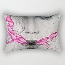 exhale (part 2) Rectangular Pillow