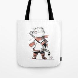 Bard Scottish Fold Cat Tote Bag