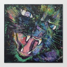 Furious Canvas Print