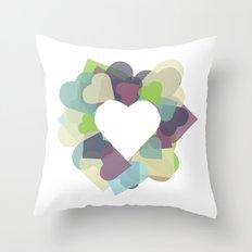 HEART HEART Throw Pillow