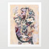 New Face 27 Art Print