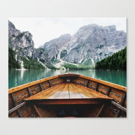 Wanderlust: Taking the Sustainable Route Canvas Print