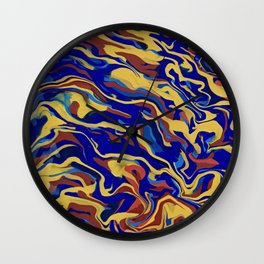 Abstract Alma Llanera Wall Clock
