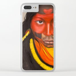 True colors Clear iPhone Case