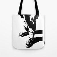 indie Tote Bags featuring Indie Rock by alex lodermeier