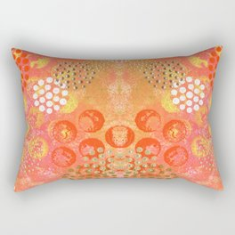 Orange Fizz Rectangular Pillow