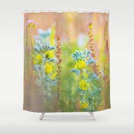 Beauty of wildflowers in the garden II Shower Curtain
