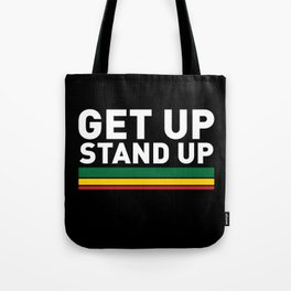 Get Up Stand Up / Rasta Vibrations Tote Bag