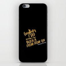 Louisiana Rising - Everything I Do Gonna Be Funky  iPhone & iPod Skin