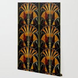 art deco wood Wallpaper