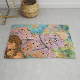 Waiting Under the Waves Rug
