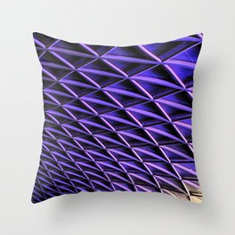 Kings Cross New Roof Throw Pillow
