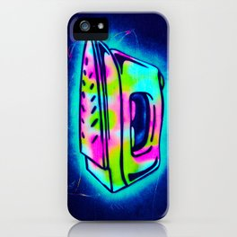 Graffiti Iron iPhone Case