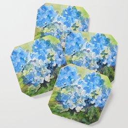 Blue Hydrangeas Coaster