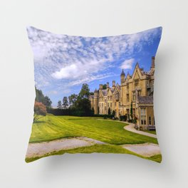 Landscaped Architecture.  Throw Pillow