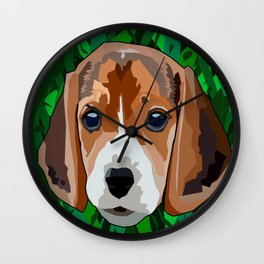 Spotted dog Wall Clock