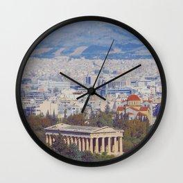 Ancient Cityscape Wall Clock