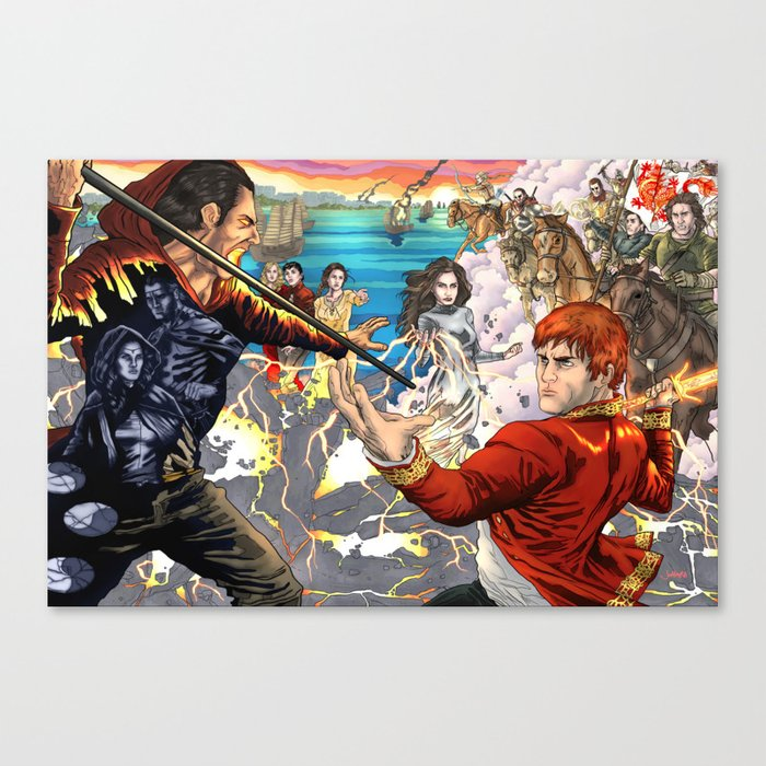 The Great Hunt Canvas Print