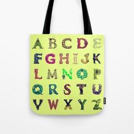 Spooktacular: An Illustrated Alphabet Tote Bag