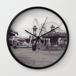 Wildwood Boardwalk Wall Clock