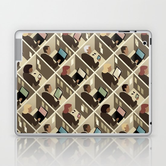 Cubicles Laptop & iPad Skin