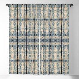 Vintage Shibori Eight Blackout Curtain
