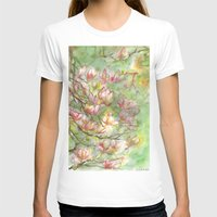 magnolia T-shirts featuring magnolia by Anja Voigt