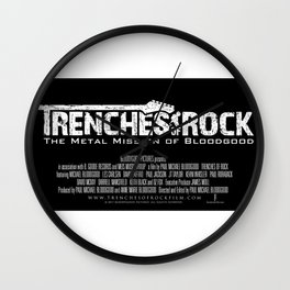 Trenches of Rock: Official Movie Poster / Art / Mugs / Phone Cases, etc. Wall Clock